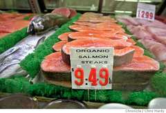 Salmon orgánico _ ecológico acuicultura