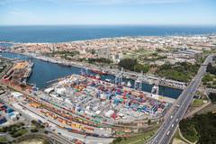 Puerto de Leixoes.