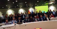 Asistentes a la primera reunión del Grupo de Trabajo sobre Peces del AAC