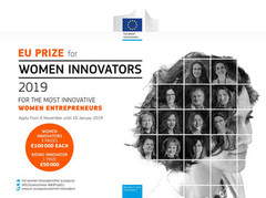 Premio europeo para Mujeres Innovadoras 2019