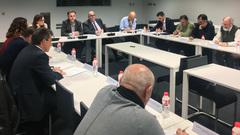 Jesús Oria ha presidido la reunión del Consejo Regional de Pesca Continental
