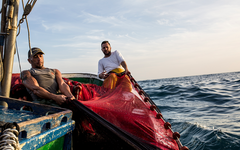 Pescadores en Fuerteventura