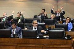 Votación en el Senado de Chile