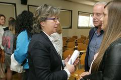 Rosa Quintana en la jornada 'Nuevos mercados para los productos pesqueros gallegos'
