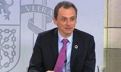 Pedro Duque en la rueda de prensa posterior al Consejo de Ministros /J.M. Cuadrado