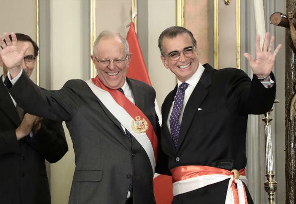 Pedro olaechea nuevo ministro de la producci n en per for Nuevo ministro del interior peru