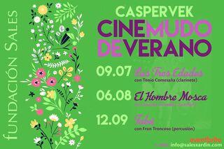Cine mudo con Caspervek