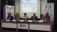 José Luis González Serrano en la 45 Asamblea de Fedepesca