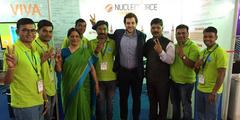 Bioibérica en Aquaculture Expo en la India acuicultura