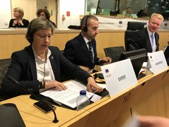 Rosa Quintana en la Comisión de Recursos Naturales (NAT) del Comité Europeo de las Regiones (CdR)
