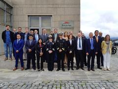 Participantes del curso junto a los responsables de FAO, Xunta de Galicia y Puerto de Vigo.