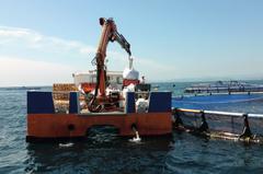 Embarcación de acuicultura. Foto: APROMAR