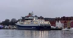 El 'Norwegian Gannet' , construido por Astilleros Balenciaga en Bergen_ acuicultura