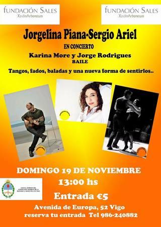 Concierto Jorgelina Piana y Sergio Ariel
