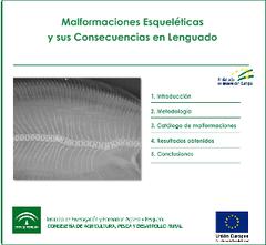 """""""Malformaciones esqueléticas en la producción del lenguado en acuicultura"""""""