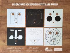 Laboratorio creación artística para familias
