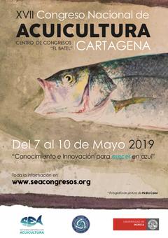 XVII Congreso Nacional de Acuicultura  _ cartel