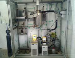 Equipo de tratamiento hidrotermal para la preparación de hidrochar. Foto: UPM