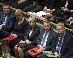 Votación 'no deal brexit' en el Parlamento Británico