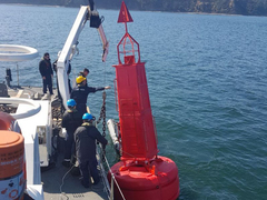 Baliza de seguridad de la Armada de Chile