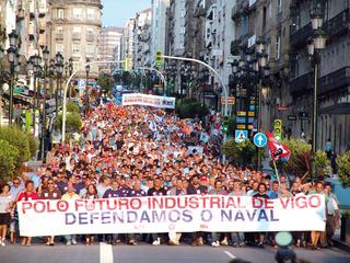 Manifestación naval