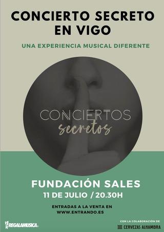 Concierto secreto en la Fundación Sales