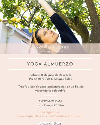 Yoga Almuerzo