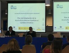 Acto presentación proyecto Aquadapt acuicultura