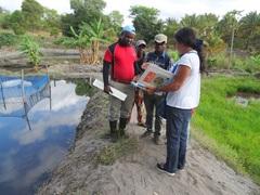 Actuaciones de cooperación Cetmar en Mozambique