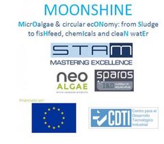 Proyecto MOONSHINE_ Neoalgae  acuicultura microalgas