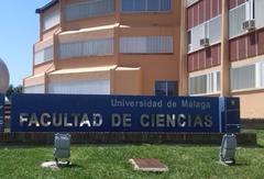 Facultad de Ciencias de la Universidad de Málaga.