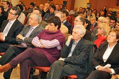 Encuentro organizado por el PSdG-PSOE en Santiago de Compostela con el sector pesquero. Foto: PSdG-PSOE
