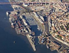 Foto: Porto de Lisboa.