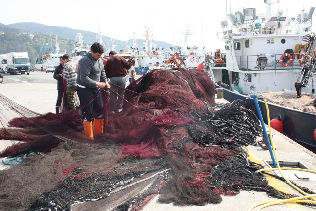 A debate el reparto de las cuotas de pesca en el Cantábrico noroeste