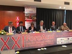 Inauguración XXI ForoAcui  2018 acuicultura