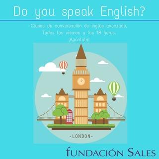 Clases conversación inglés