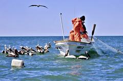 Pescador en México