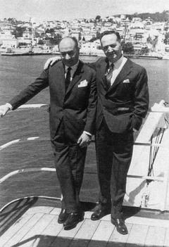 Valentín Paz-Andrade y José Fernández