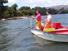 Marisqueo a flote en la ría de Arousa