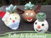 Taller de kokedamas navideñas para peques