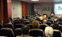 El director de ABANCA Mar en el encuentro celebrado esta semana con el GALP Ría de Vigo–A Guarda