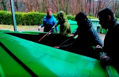 Proyecto Arca repoblación salmón en Asturias acuicultura