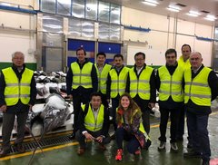 Visita delegación japonesa lonja Vigo