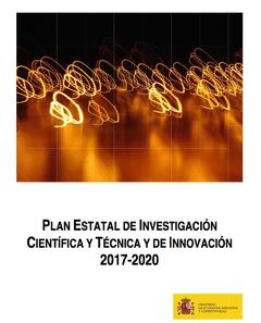 Plan Estatal de Política Científica y Técnica y de Innovación para el periodo 2017-2020
