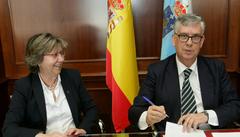 Firma Convenio Anfaco- Xunta de Galicia