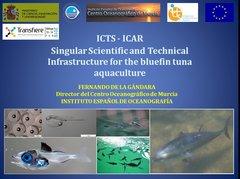 Presentación de ICTS-ICAR en Transfiere 2019