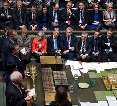 Votación Brexit Parlamento británico