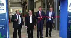 Inauguración tercera línea de producción de Aller Aqua Group en Egipto acuicultura