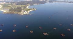 Bateas mejillón. Foto: Xunta de Galicia