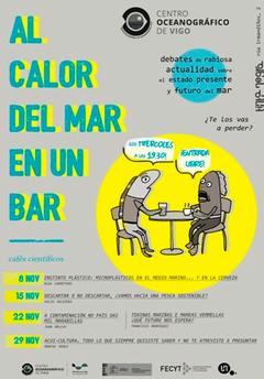 Cafés científicos del Oceanográfico de Vigo: